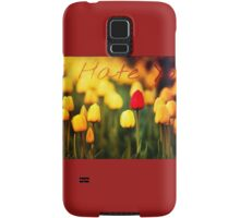 What Lovely Flowers Samsung Galaxy Case/Skin