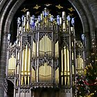 Chester Cathedral Organ at Christmas by AnnDixon