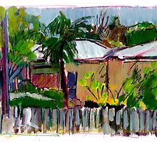 Nundah Sketch by Paul  Milburn