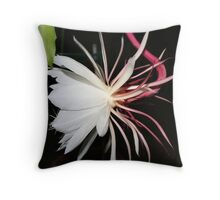 """""""Queen of the Night Profile"""" Throw Pillow"""
