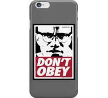 DON'T OBEY iPhone Case/Skin