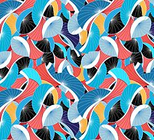 graphic abstract pattern by Tanor