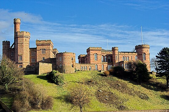 Inverness Castle by andarna