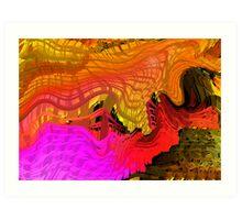 light twisting  Art Print