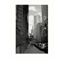 Downtown - Sydney Art Print
