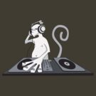 Monkey is a DJ by Damien Mason