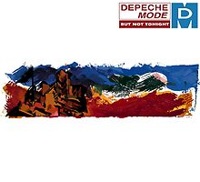 "Depeche Mode : But Not Tonight 12"" paint by Luc Lambert"