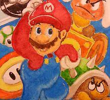 It's a Mario! by jimenezart