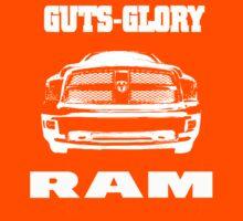 Glory Guts Ram white Kids Clothes