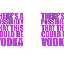 There's a possibility this could be vodka by SOVART69