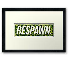 Respawn Camo Framed Print