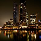 Melbourne Reflections by DavidsArt