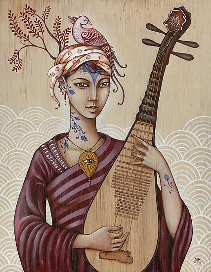 Benzaiten by NadiaTurner