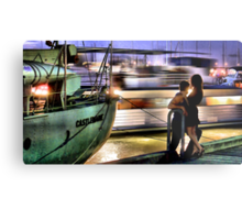 Like two ships that pass in the night... Metal Print