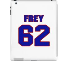 National football player Dick Frey jersey 62 iPad Case/Skin