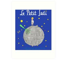 Le Petit Jedi Art Print