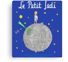 Le Petit Jedi Canvas Print