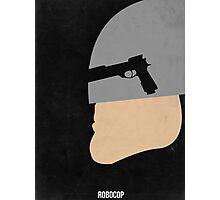 Robocop Minimal Photographic Print
