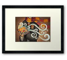 Harry Potter Books Magic Framed Print