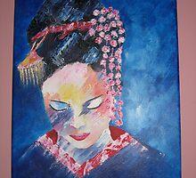 geisha by Teagan Watts