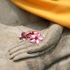 buddhist offering, thailand by chrisdade