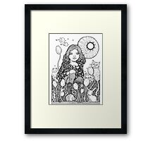 See Emily Play Framed Print