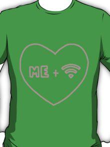 me + wifi heart T-Shirt