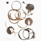 Coffee cup stains by thepatternroom