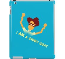 Maurice Moss - I AM a giddy goat (I.T. Crowd Design) iPad Case/Skin