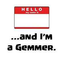 Clash of Clans - Hello My Name is and I'm a Gemmer by pregnantembryo
