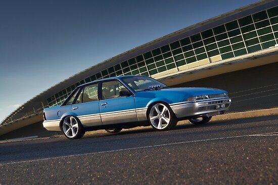 Blue Holden Commodore VL Turbo by John Jovic