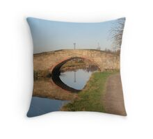 Spanning reflections Throw Pillow
