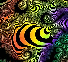 Rainbow spirals by walstraasart
