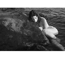 Pensive Mermaid  Photographic Print
