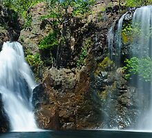 Florence Falls - Litchfield National Park by David Blackwell
