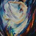 ANGEL OF LOVE by leonid afremov