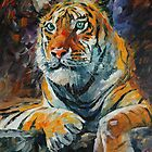 SIBERIAN TIGER by leonid afremov
