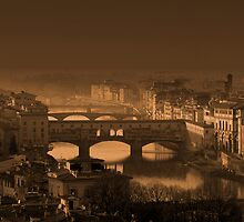 Ponte Vecchio - Florence by Zoltan
