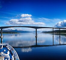 Tromso Blue by Marylou Badeaux