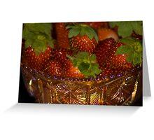 Strawberry Anyone? Greeting Card
