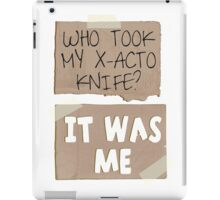 But I need it! iPad Case/Skin