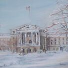 On Bascom Hill by Carolyn Bishop