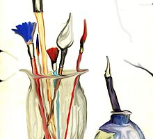 Paint Brushes by malki21