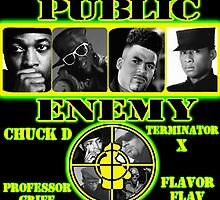 Public Enemy Poster by mindlessfiend