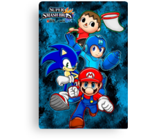 Super Smash Bros Canvas Print