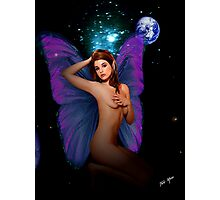 Faerie With Bedroom Eyes Photographic Print