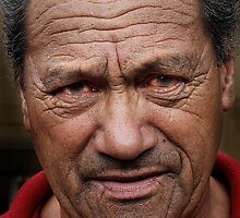 Maori elder by Robyn Lakeman