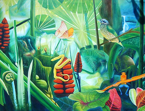 Carnival in the Jungle by leonard aitken