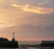 maryport sunset by matt reeves