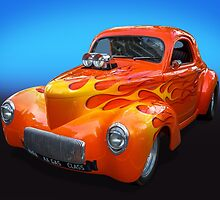 Willys Gasser by Keith Hawley